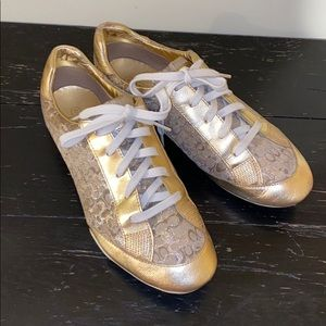 Coach Gold Reese Sneakers